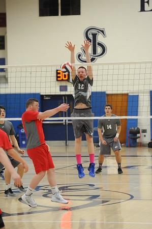 Varsity Volleyball Action!