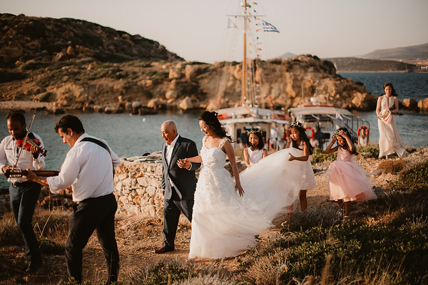 K&S wedding at Antiparos