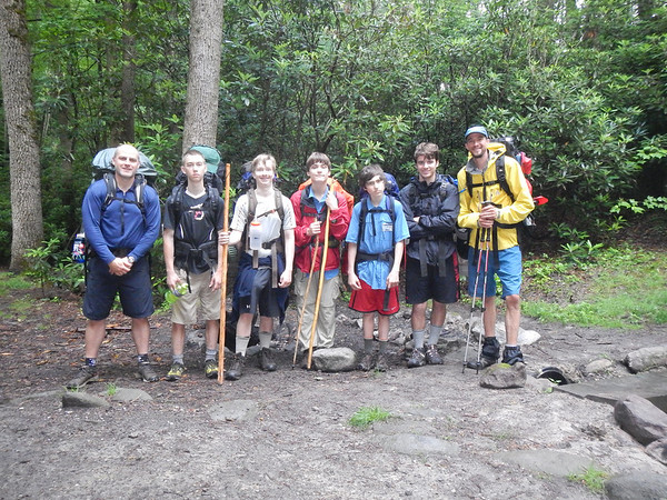 Outdoor Program Backpacking and Camping Trip