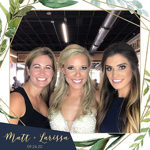 Matt + Larissa Wedding