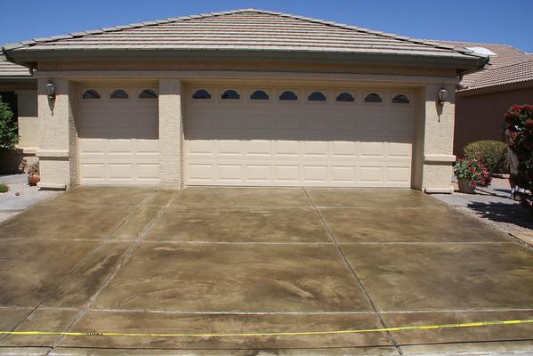 Decretive  driveway coating 05-10