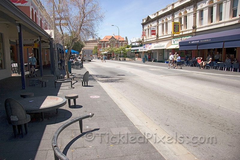 """""""Capuccino Strip"""" in Fremantle, W.A."""