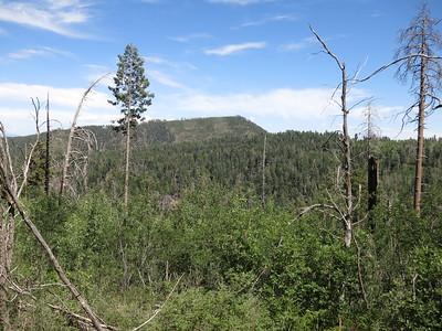Peak 9391, Blue Peak, Renos Neighbor, Reno Lookout - Jul. 1, 2018