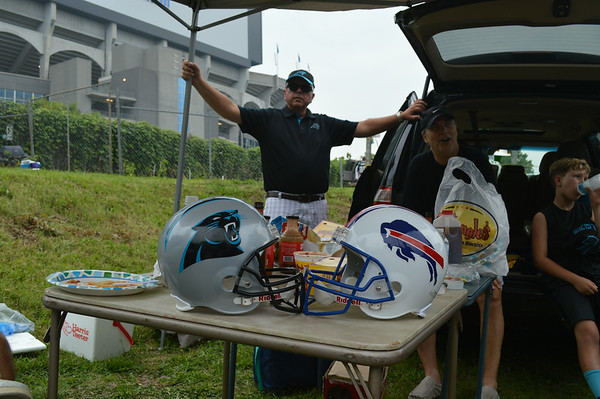 Panthers vs. Bills August 8 2014
