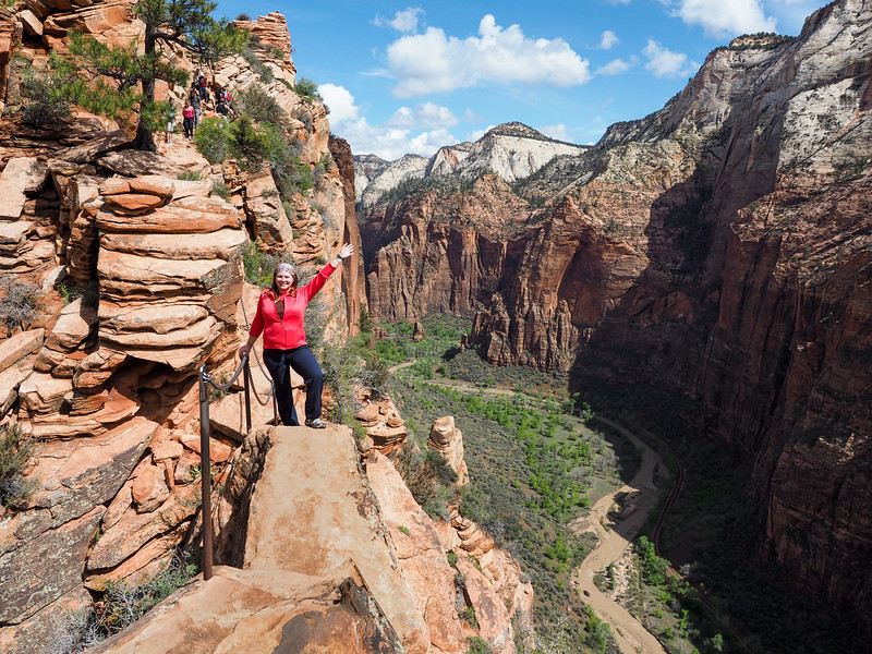 Angels Landing trail in Zion