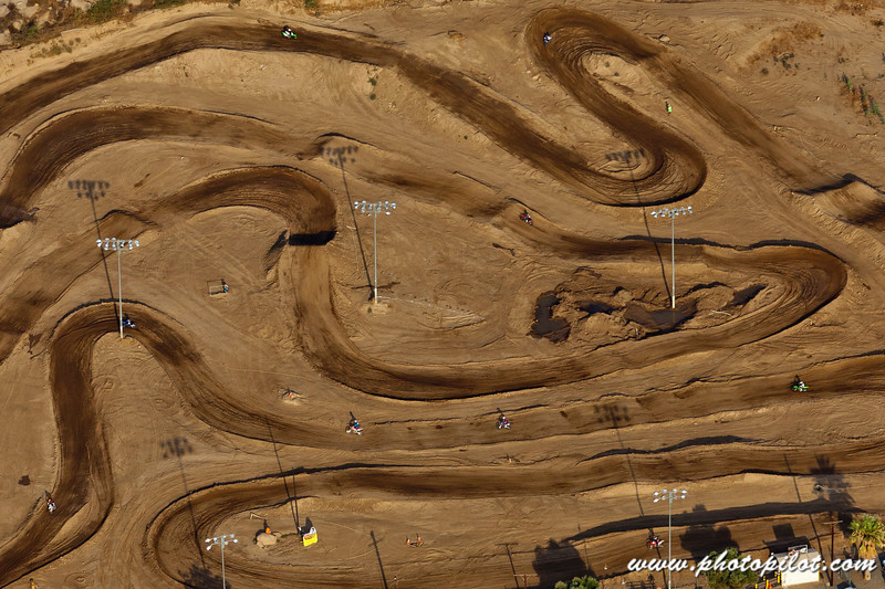 Motocross in the Desert