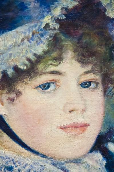 By the Seashore; Auguste Renoir; 1883