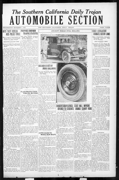 Daily Trojan, Vol. 17, No. 16, October 07, 1925