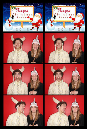 Chick Fil A christmas party 2013