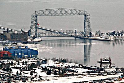 2016 02 06: Hockey Day in Minnesota, Duluth MN US