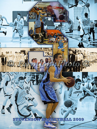 2009 BasketBall Collage Review