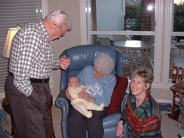 Andrea With Grandma and Grandpa