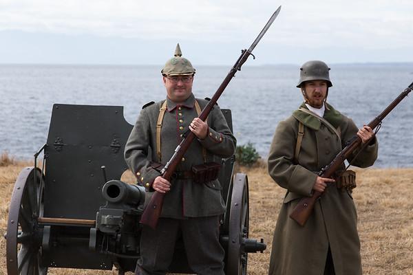 German 77mm Field Guns