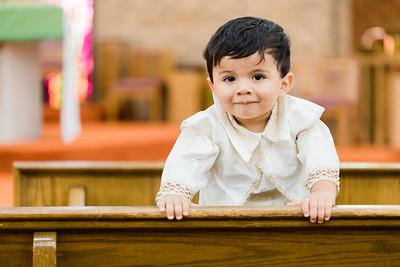 Emiliano's baptism