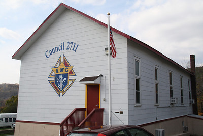Spaghetti Dinner, Knights of Columbus, Seek, Coaldale (10-23-2011)