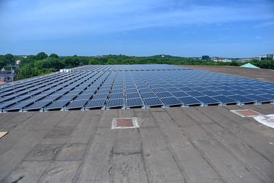 Solar Panels on Curb