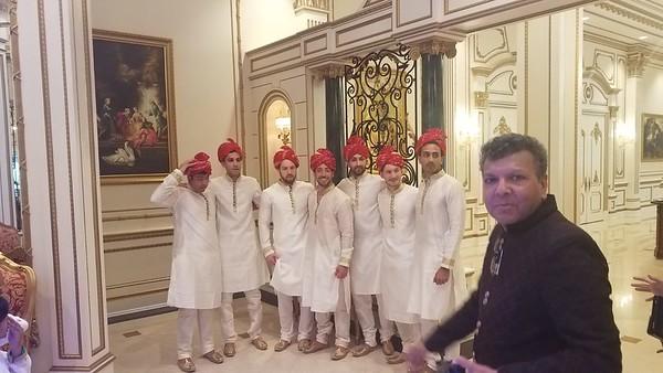 Milan's wedding