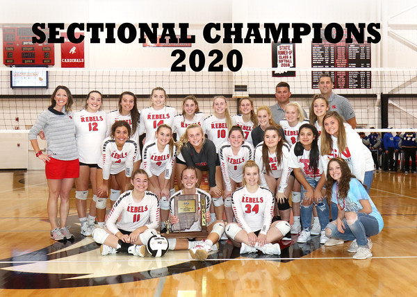 SNHS Volleyball vs North White - Sectional Champs 2020