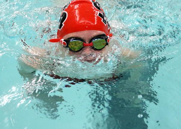 SNMS Swimming vs Carroll 2015