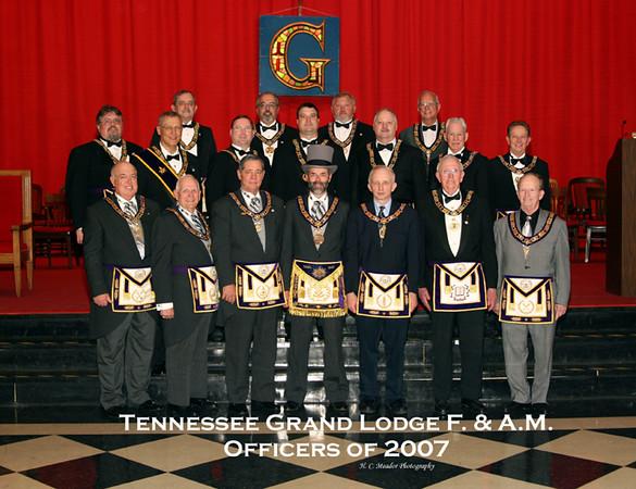 TN Grand Lodge Installation 2007