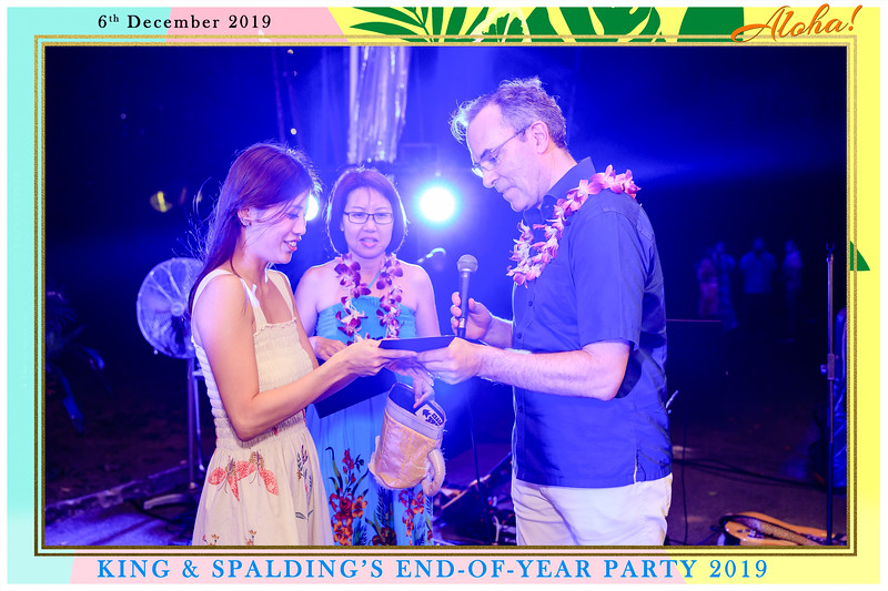 King & Spalding's End of Year Party | © www.SRSLYPhotobooth.sg