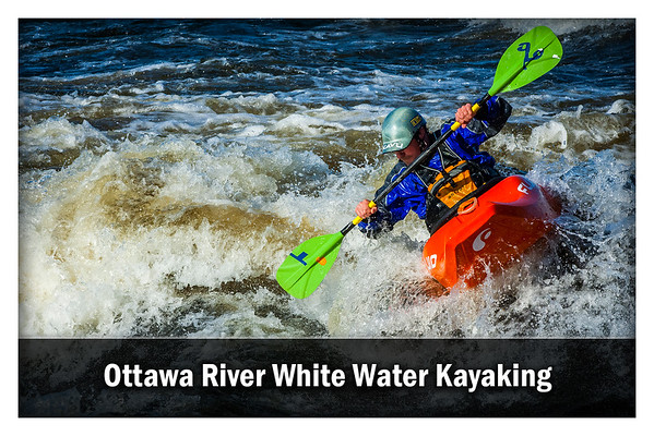 Ottawa River White Water Kayaking