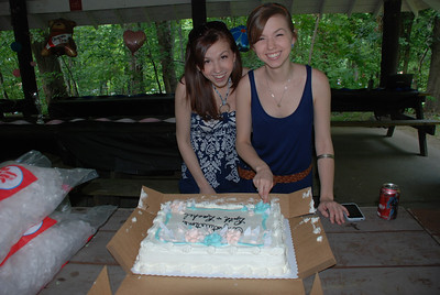 Rachel & Ruthie Grad party