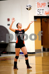 WHS Volleyball vs Burg 8-28-12