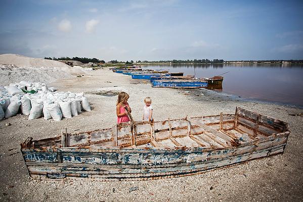 Senegal, Lac Rose 2017