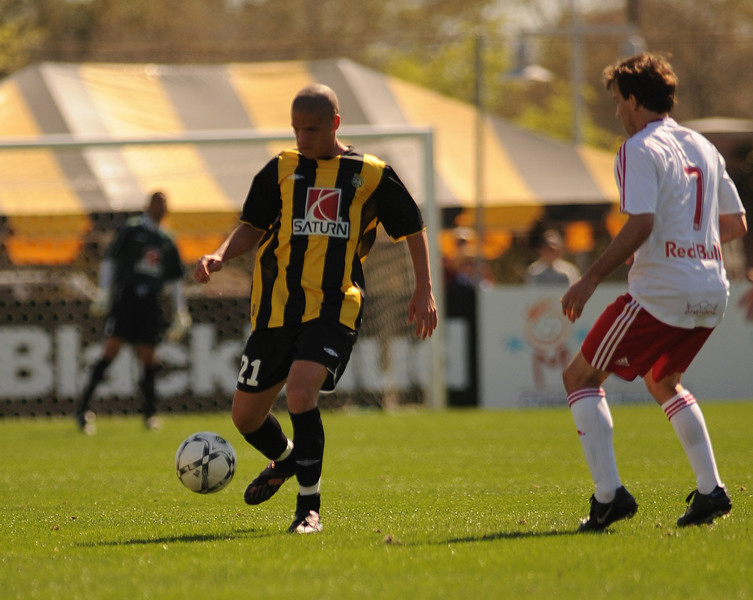 2008 Charleston Battery home jersey.  Jersey by Umbro, sponsor by Saturn.  Eventual US Open Cup Finalist