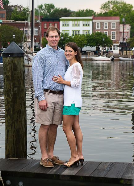 Carolyn and Brett