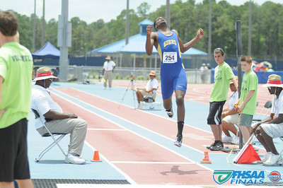 Class 3A - Field Events - Long Jump Prelims and Finals
