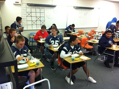 2011 SMHS Knights JV vs Orange Glen