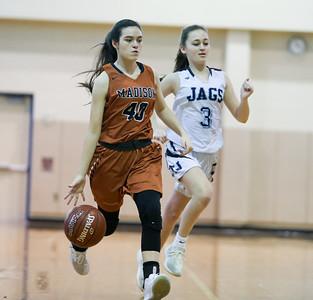 Girls JV Basketball vs Johnson 012520