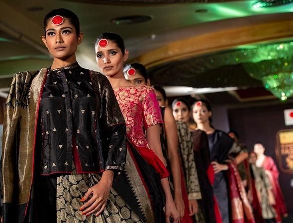 Styling for Fashion shows - Upasana