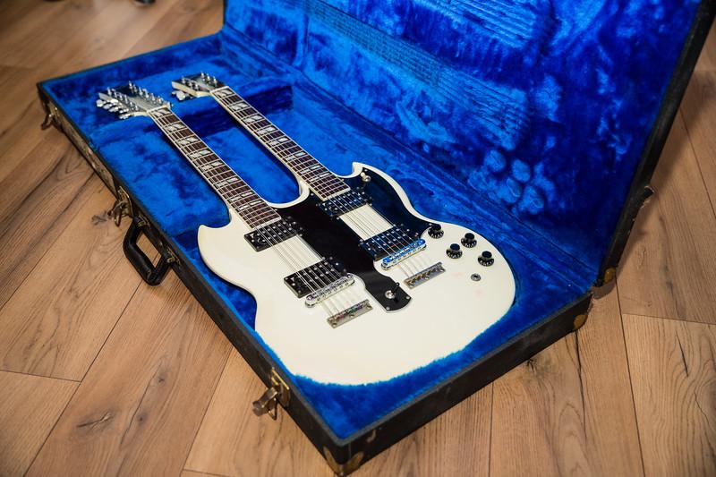 Gibson - 1275 - white - 1987 - Steve Clark - Def Leppard