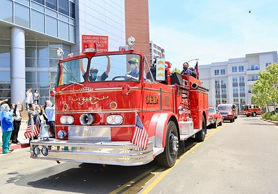 First Responder Salute to Health Care Workers