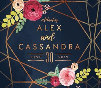 Alex & Cassandra's Wedding!