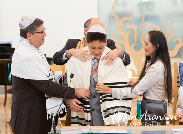 Schwartz Bar Mitzvah Service