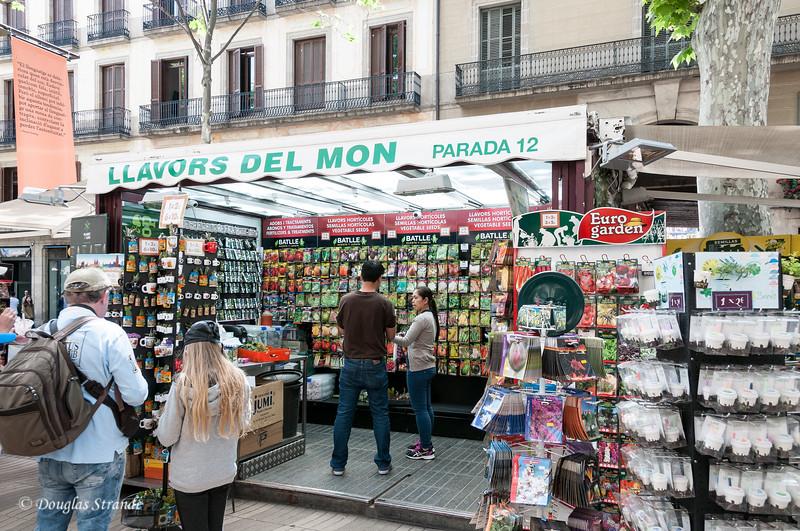 Barcelona: Veggie seeds for sale