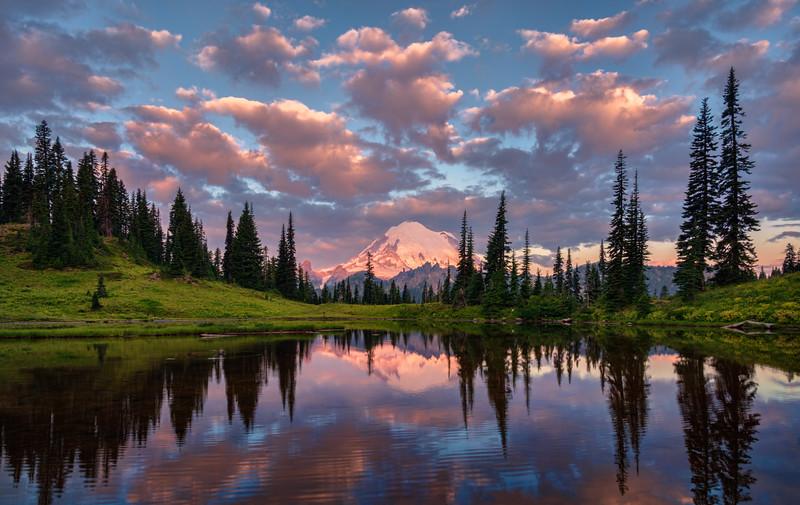 Mt Rainier Reflections     Washington, USA