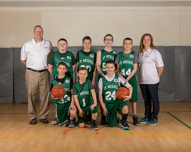 2018 SMS Basketball Team Shots