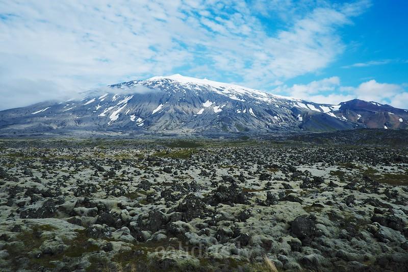 Glacier no Snæfellsjökull peninsula, Iceland