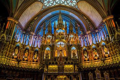 Montreal, Notre Dame Basilica
