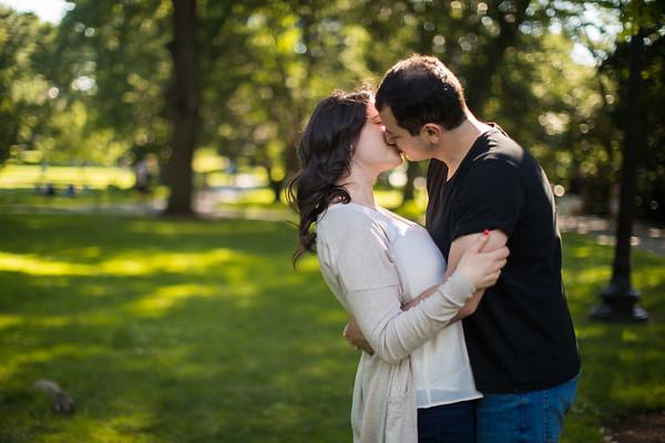 Karah + Matt | Engagement Session | Boston