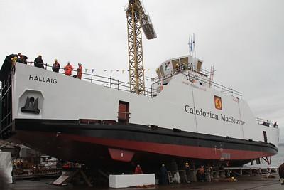 Hallaig Hybrid Ferry Launch