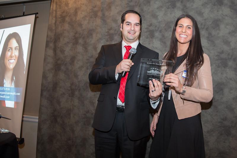 Best Business Startup Award winner, Stevie Morgan Cater Me Fit