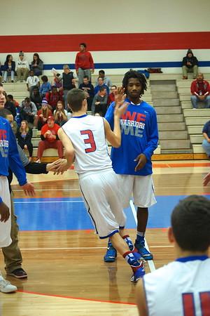 Varsity Basketball vs CF