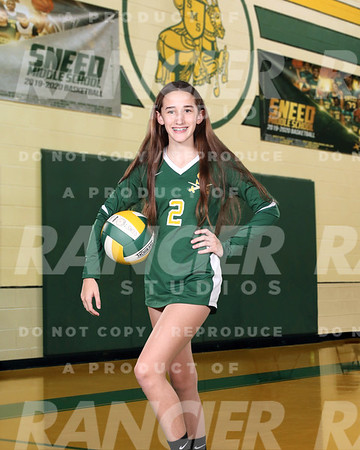 Sneed MS B-Team Volleyball 2020-2021