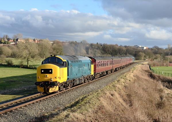 East Lancashire Railway Spring Diesel Gala. 08/03/15.